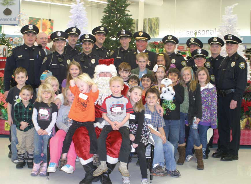 Shop with a Cop a celebration of community giving | The