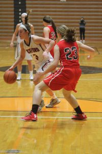 Rockford's Zoe Anderson scored 28 points against West Ottawa.